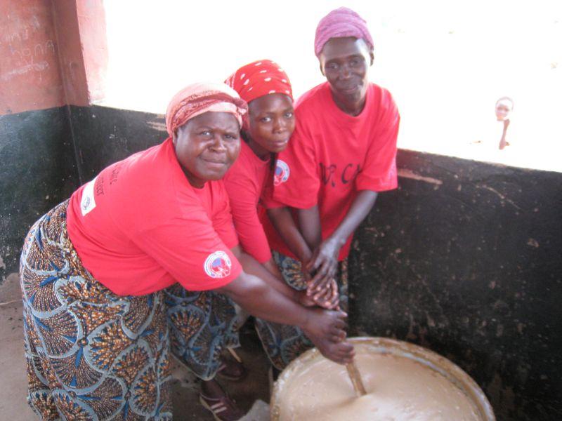 Porridge for the kids